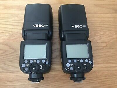 Godox v860ii Nikon Flash Gun Speedlight BRAND NEW