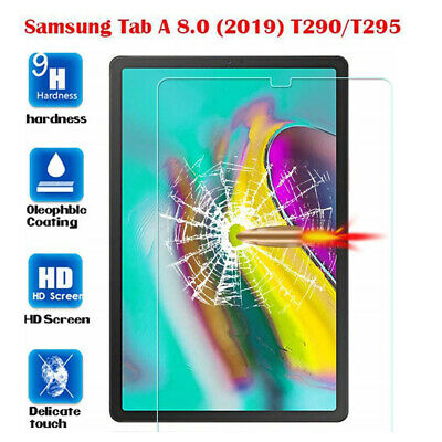For Samsung Galaxy Tab A 8.0 2019 T290 Screen Protector HD Tempered Glass Film