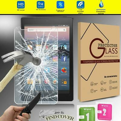 Tablet Tempered Glass Screen Protector For Amazon Fire HD 8 (2018) with alexa