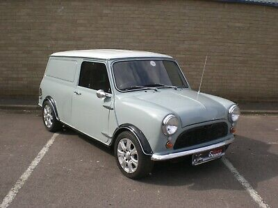 1969 AUSTIN MINI PANELVAN in beautifully restored condition. Nothing to spend !!