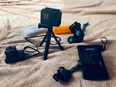 GoPro Hero 5 4K Ultra HD Waterproof Action Camera - Black - Accessories -  64GB