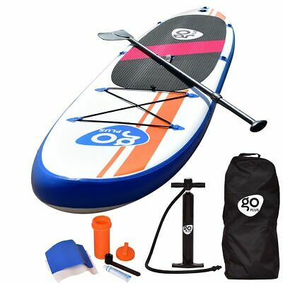 10'Inflatable Stand Up Paddle Board SUP w/ Fin Adjustable Paddle Backpack