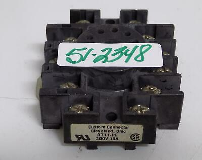 Custom Connector Relay Socket Base Ot11-Pc