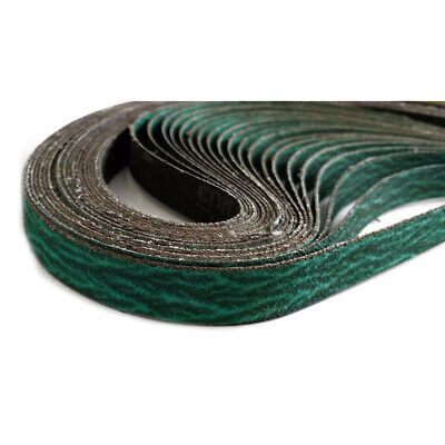 Metalworking Sanding Belts 20pcs 12.7*457.2mm 60Grit Zirconia Industrial