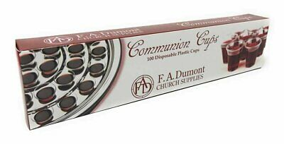 "Disposable Communion Cups - Box of 100, 1-3/8"" High"