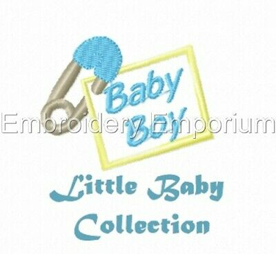 Little Baby Collection - Machine Embroidery Designs On Cd Or Usb