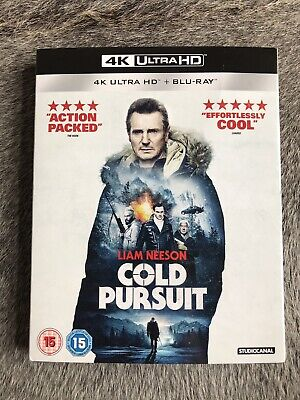 Cold Pursuit 4K Blu Ray