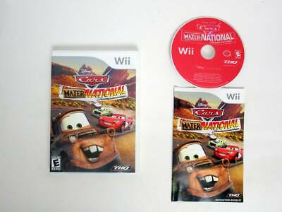 Cars Mater-National Championship game for Nintendo Wii -Complete