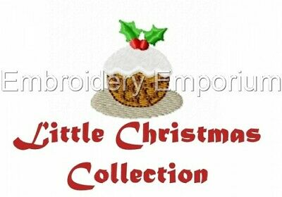 Little Christmas Collection - Machine Embroidery Designs On Cd Or Usb