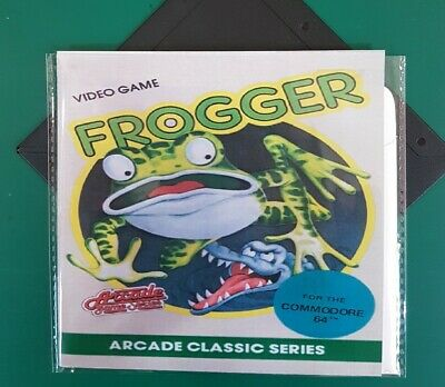 """FROGGER : floppy disc 5,25"""" COMMODORE 64  test ok C64 game (read before)"""