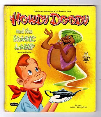 HOWDY DOODY AND THE MAGIC LAMP ~ vintage childrens Whitman Tell-A-Tale Book