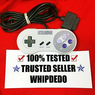 SNES/Super Nintendo Controller Official OEM Authentic ORIGINAL TESTED WORKING