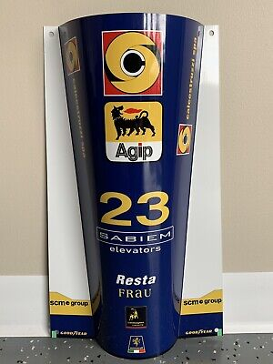 WOW!!!Curved JACKIE STEWART Team Tyrrell FORD Formula 1 Race Car Door Style Sign