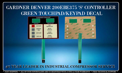 200Ebe375 Gardner Denver S Controller Touchpad Keypad With One Year Warranty