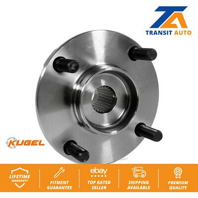 Front Wheel Bearing and Hub Assembly For Nissan Versa
