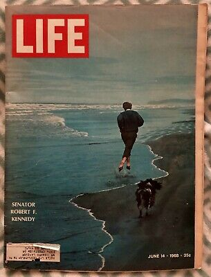 Life Magazine June 14 1968 Senator Robert F Kennedy Vintage Advertising Jfk