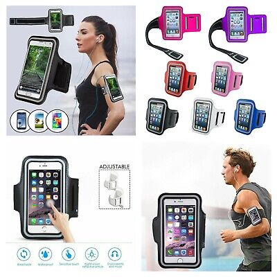 Samsung Galaxy Gym Running Jogging Sports Armband Phone Holder For Various Phone