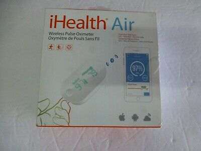 iHealth Air Wireless Fingertip Pulse Oximeter with Plethysmograph (B-35)