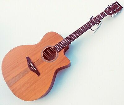 VINTAGE VE900MH Electro-Acoustic Guitar. Fishman Presys Preamp. Improved set-Up