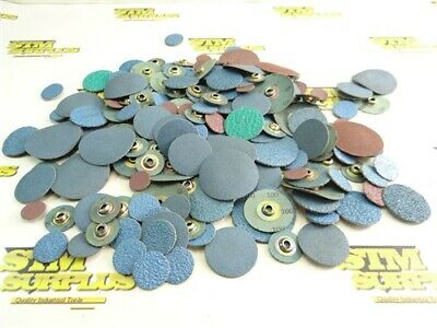"""Mostly New! Large Lot Of Assorted Quick Change/Powerlock Discs 3/4"""" To 2"""""""