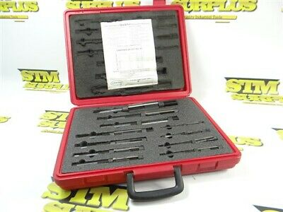 Complete! Cleveland 11Pc Quick-Set Hss Adjustable Reamer Set A-K
