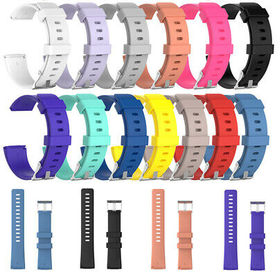 Silicone For Fitbit Versa Wristband Wrist Strap Watch Band Soft Replacement Belt