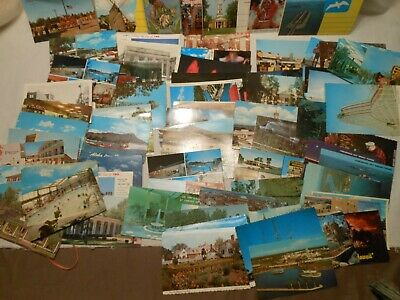 Big Lot of Unused Postcards & Foldouts /30 - 40 years old /Hawaii /Henry Ford Mu