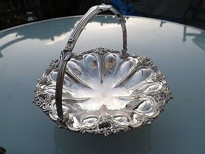 Superb Matthew Boulton Old Sheffield Silver Plate Cake / Bread Basket