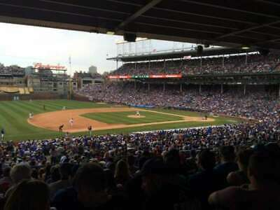 (2) CHICAGO CUBS vs MILWAUKEE BREWERS SAT, AUG 3RD  SECT 207 ROW 20