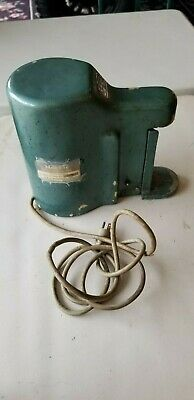 Vtg Mor-Eze Electric Church Key Countertop Can Opener Tested. Works