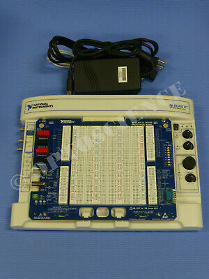 National Instruments NI ELVIS II+ Platform with Prototyping Board, Power Supply