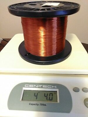 Essex Magnet Wire 29awg.  4.4lbs.