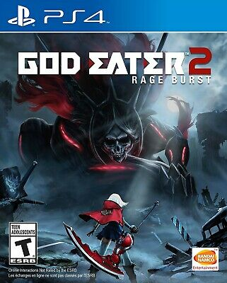 Playstation 4 Ps4 Game God Eater 2 Rage Burst Brand New And Sealed