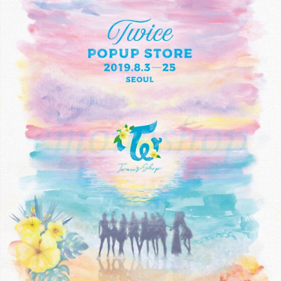 KPOP TWICE [ Twaii's Shop ] in SEOUL POP UP STORE OFFICIAL MD + Tracking No.