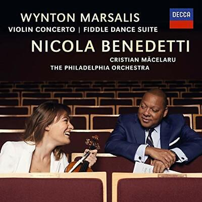 `Nicola Benedetti, Philadel...-Marsalis: Violin Concerto; Fiddle Dance Su Cd New