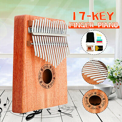 17Keys Wooden Kalimba Finger Thumb Piano Education Musical Instrument Toy Gifts
