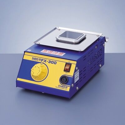 "Hakko FX300-03 analog Solder Pot 120V+lead-free compatible +50x50mm 2"" crucible"