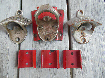 Lot of Mixed Coca Cola Vintage Bottle Openers