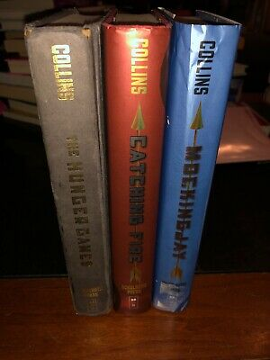 The Hunger Games Trilogy Box Set 3 Hardback Suzanne Collins