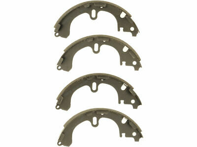 For 2000-2002 Toyota Corolla Front Ceramic Pads /& Rear Organic Brake Shoes