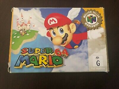 Super Mario 64 - Nintendo 64 - AU/PAL - In box with booklet and poster