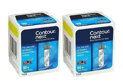 Bayer Contour Next Blood Glucose Test Strips 100 Count