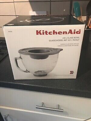 KitchenAid- Glass Bowl with Lid 4.8 litres