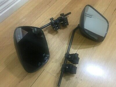 Milenco Grand Aero 3 Extra Wide Flat Glass Caravan Towing Mirror 1Pair