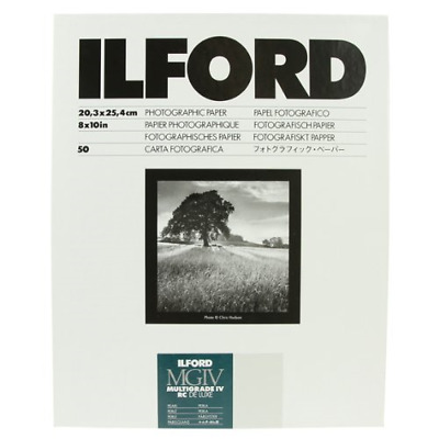 Ilford Multigrade RC Deluxe Pearl 20.3x25.4cm 8x10 50
