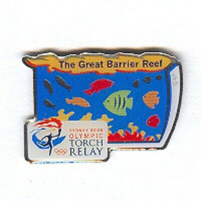 Sydney 2000 - The Great Barrier Reef Torch Relay Olympic Sponsor  Pin [Op-16]