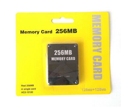 256MB PS2 Memory Card High Speed Storage For Sony PlayStation 2 Game Saves