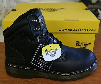 57e1371d388 DR MARTENS DM Docs Benham ST Lightweight Steel Toe Cap Leather ...