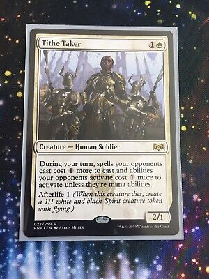 Smothering Tithe 1 × NM Ravnica Allegiance RNA mtg MAGIC the Gathering English