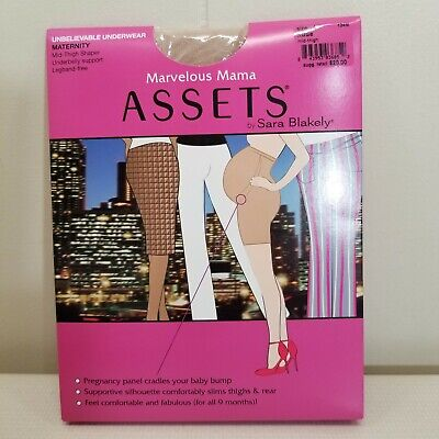 Marvelous Mama Assets Sara Blakely 4 Nude Spanx Maternity Underwear Thigh Shaper